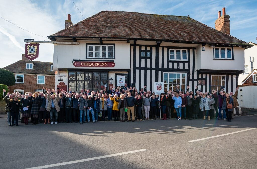 Community in Ash buy The Chequer Inn after village campaign – KM Article